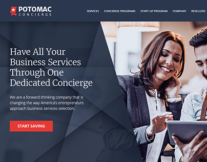 Business Services Website Redesign