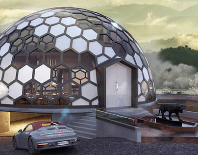 Design for a Dome Shaped Home (South Africa)