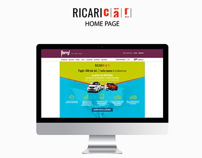 RICARICA homepage