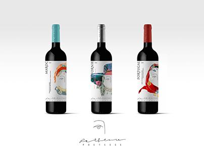 gamme de vins - poetesse 灵感来源于中国女作家三毛的红酒系列