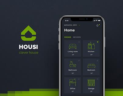 Housi App / smart home concept