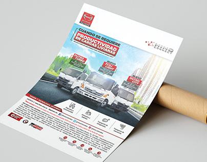 Publicaciones impresas Hino Colombia