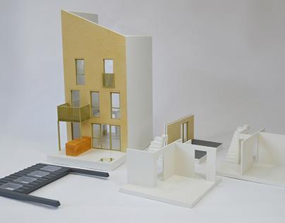 Sky House Co 1:50 T1 House Model