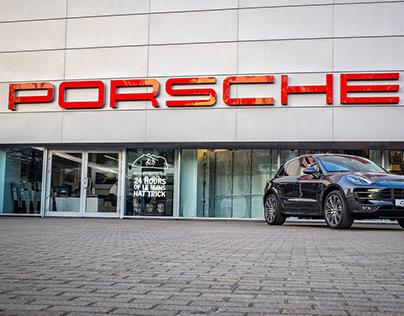 Window stickers for Porsche