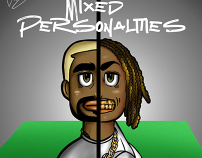 MIXED PERSONALITIEES BY KANYE AND MELLY