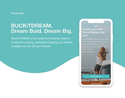Portfolio Application BUCKiTDREAM