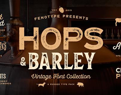 Hops & Barley Font Family