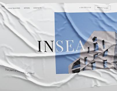INSEA - real estate site concept