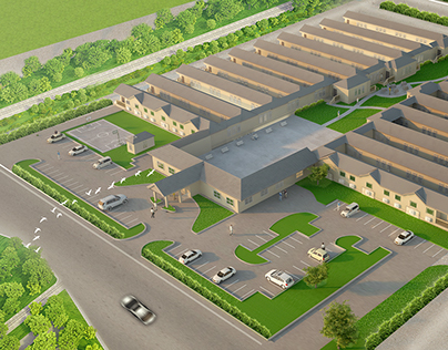 Weatherford Housing Units 3D Visualisations