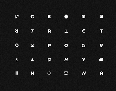Geometric typography / vol.2