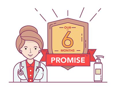 Skin Care Product Illustration
