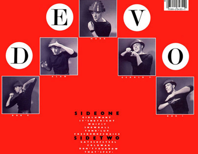 DEVO Freedom Of Choice LP