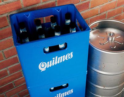 Design of 4G Beer Crate- QUILMES
