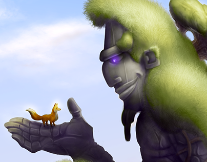 The Stone Giant and the Fox