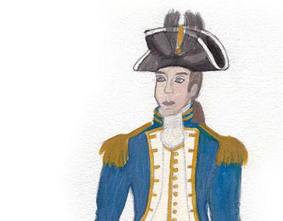 Costume Design Renders {Watercolor}