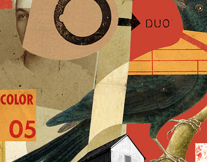 """collage - """"color duo 05"""""""