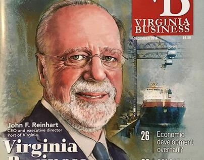 Virginia Business Cover Portraits
