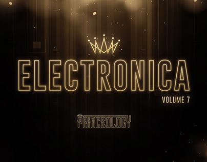 Electronica Vol 7   Album Artwork