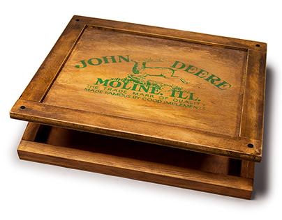 John Deere Custom Wooden Slipcase