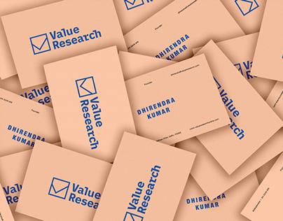 Value Research - Brand Identity + Visual Language