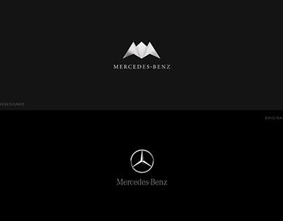 Mercedes-Benz Logo Redesigned