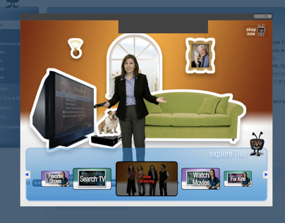 What is Tivo demo player.