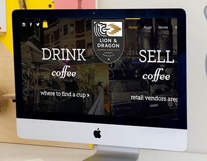 Coffee Shop Site - Custom Web Design