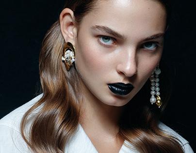 Harpers Bazaar Ukraine beauty, January 2020