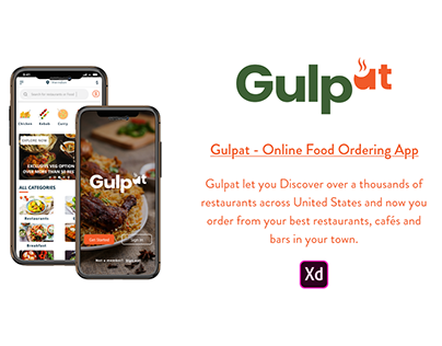 Gulpat - Online Food Ordering App
