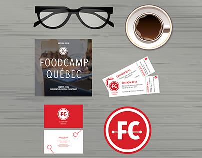 Branding | FoodCamp Québec