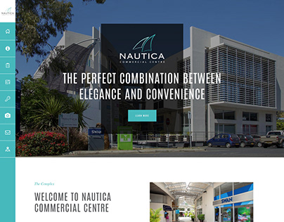 Nautica - Website Design