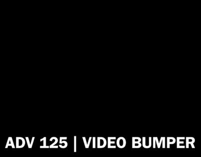 ADV 125 | IKEA VIDEO BUMPER