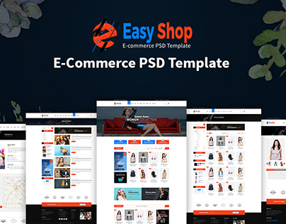 Easy Shop- Ecommerce PSD Template