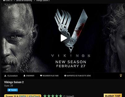 Vikings Saison 2 streaming vf | fCine.TV