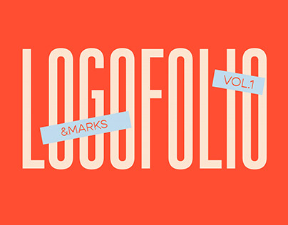 LOGOFOLIO - logos & marks - vol. 1