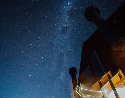 Mueller Hut and Aoraki Astrophotography