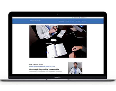 salvatoreiaconopsichiatra.it | one page website
