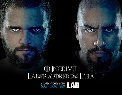 Poster Canal youtube O Incrível Laboratório da Ideia