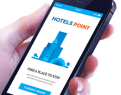 Hotels Point App Design