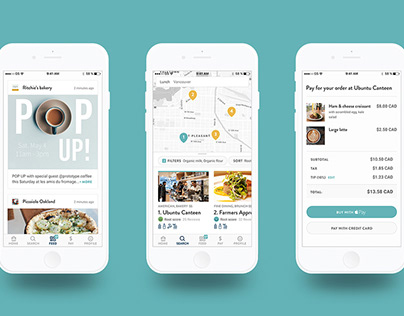 Root Restaurant Finder App