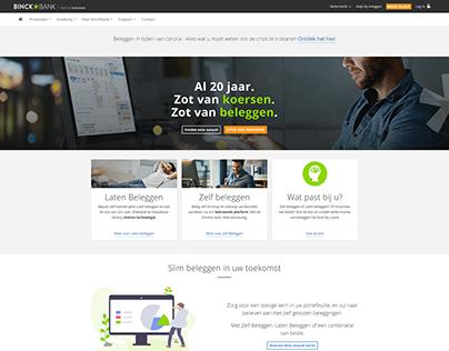 Homepage BinckBank