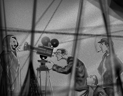 Movements of Cinema : Illustrations