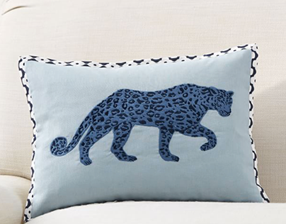 Leopard Print/ Graphic for Pottery Barn