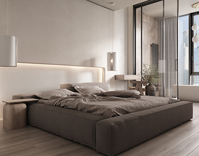 Modern Beige (bedroom)
