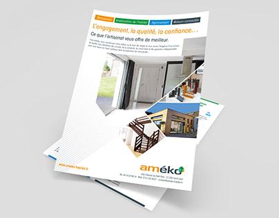 AMEKO HABITAT -Développement de la charte graphique