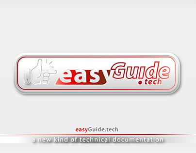 EasyGuide.tech logo design