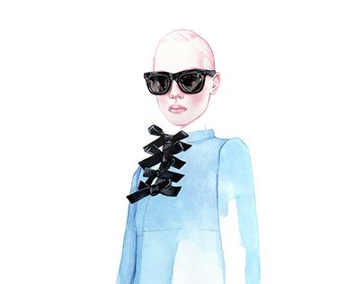 Fashion illustrations 2017 Part I