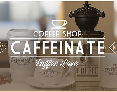 Caffeinate Coffee Shop Web Site