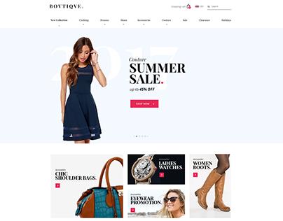 Boutique Shopify Website Design