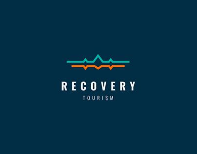 Recovery tourism Logo concept